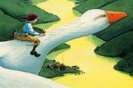 """""""Il viaggio meraviglioso di Nils Holgersson"""" di Selma Lagerlöf (1858-1940)"""