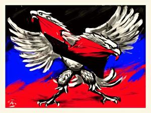 Aquila devasta Pravy Sektor