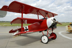 aereo barone rosso