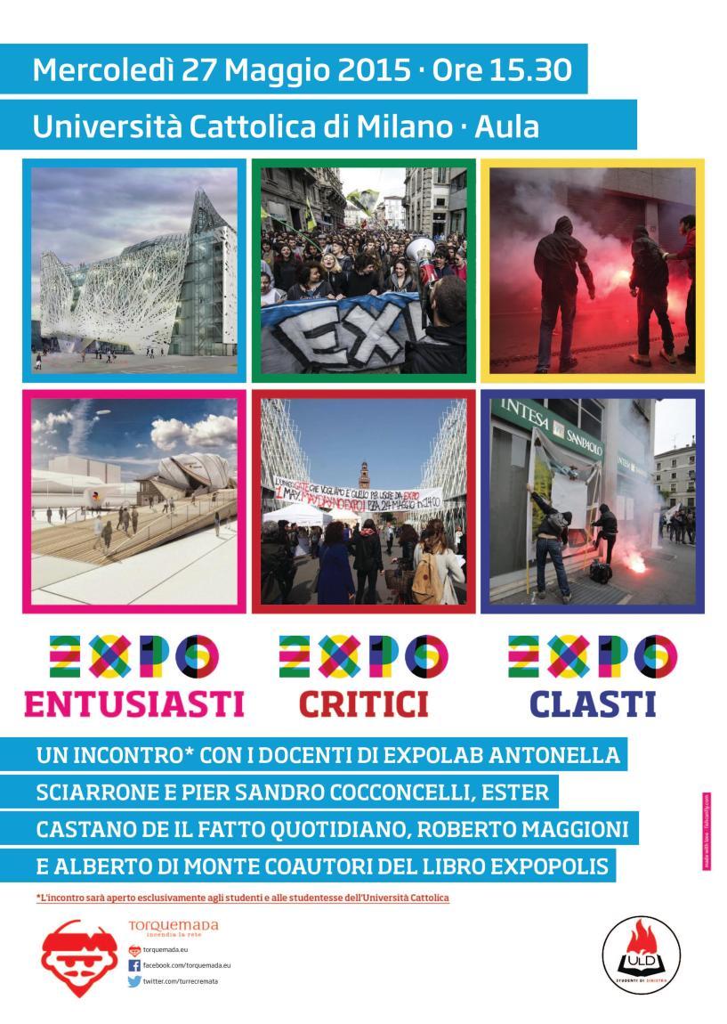 Expo-entusiasti, Expo-critici, Expo-clasti